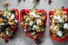 edible perspective - Home - Greek Stuffed Peppers