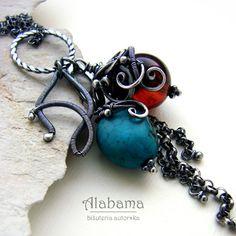 """ALABAMA - """"A"""" as """"amber"""""""