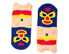 luchadores baby socks at babesta  = so in love with these!