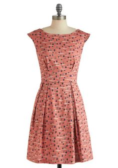 Fantastical Voyage Dress, #ModCloth    (I want to wear this dress to a picnic. Today. Right now. UK Size 8. Thanks.)