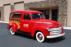 Coca-Cola old truck