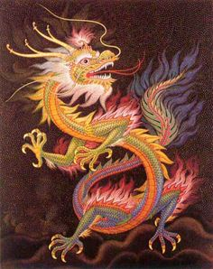 chinese-dragon-mosaic by k.The Chinese dragon is a symbol of wisdom, power, and luck in Chinese culture. Unlike western dragons, oriental dragons are usually seen as benevolent and kind. Dragons have long been a symbol in Chinese folklore and art. Dragon Tatoo, Dragon Art, Year Of The Dragon, Enter The Dragon, Dragon Images, Dragon Pictures, Mythological Creatures, Mythical Creatures, Dragon Oriental