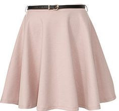 #newlook.com              #Skirt                    #Stone #Belted #Skater #Skirt                       Stone Belted Skater Skirt                           http://www.seapai.com/product.aspx?PID=1842445