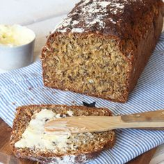 Bread Recipes, Baking Recipes, Bread Shop, Swedish Recipes, Quick Bread, Bread Baking, Baked Goods, Banana Bread, Bakery