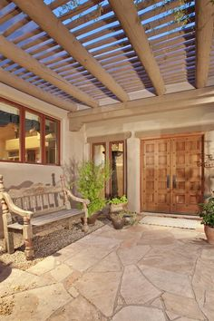 1000 images about arizona exterior on pinterest for Homes with enclosed courtyards