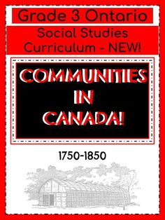 Canadian Social Studies, 3rd Grade Social Studies, Social Studies Curriculum, Cooperation Quotes, Social Studies Communities, Canadian Identity, Report Card Comments, Ontario Curriculum, Indigenous Peoples Day
