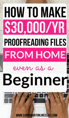 Looking for proofreading jobs from home? Get entry level proofreading jobs online over at Proofreadi Earn Money From Home, Make Money Fast, Earn Money Online, Online Jobs From Home, Online Work, Online Check, Best Home Business, Business Ideas, Proofreader