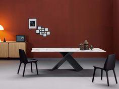 AX Tisch aus Keramik Kollektion Ax by Bonaldo Design Gino Carollo