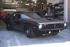 An early favorite for my favorite car in Fast & Furious 6: 1970 Plymouth Barracuda