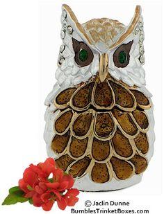 Trinket Box: Mini Owl Trinket Box