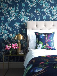 9 Maximalist Decor Ideas To Revamp Your Boring Space Pink Bedrooms, Room Makeover, Interior, Serene Bedroom, Oval Room Blue, Bedroom Design, Home Decor, Luxury Bedding, Interior Design