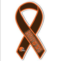 Cleveland Browns Ribbon Magnet