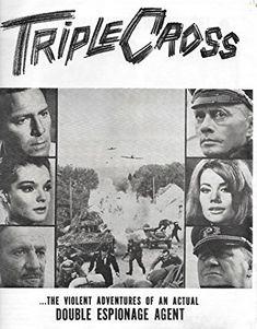 Claudine Auger, Yul Brynner, Christopher Plummer, Gert Fröbe, Trevor Howard, and Romy Schneider in Triple Cross (1966)