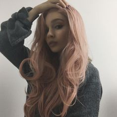 How Pretty!! see our stunner @vmarievv looks fabulous gorgeous in this candy pink wig. Girlsdo you want it??wig sku:edw1082 Use Coupon Code: HALLOWEEN15% Off on your order. http://ift.tt/2dFPk5v #beauty#frontlacewig #frontlacewigs#syntheticwigs#synthetic#halloween#halloweenparty