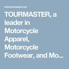TOURMASTER, a leader in Motorcycle Apparel, Motorcycle Footwear, and Motorcycle Luggage. - Elite 14L Tank Bag