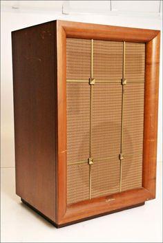 Electro Voice The Marquis Floor Speaker Standing Art Deco Vintage Wood Cabinet Floor Speakers, Horn Speakers, Diy Speakers, Stereo Speakers, Altec Lansing, Speaker Stands, Loudspeaker, Wood Cabinets, Audiophile