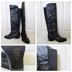 DV by Dolce Vita Shoes - DV by Dolce Vita Black Riding Boots- NWT