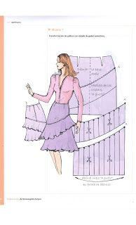 No photo description available. Skirt Patterns Sewing, Clothing Patterns, Circle Skirt Tutorial, Pekinese, Make Your Own Dress, Dress Tutorials, Fashion Project, Fashion Sewing, Pattern Fashion