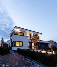 Country House Design, Modern House Design, Mansions Homes, Modern House Plans, Facade House, House Goals, Home Fashion, Design Case, Future House