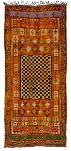 Vintage Moroccan Rug...I love that I actually have two of these that I bought in souks in Morocco