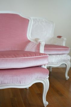 Contact me to design your chairs! Classic French bergere style - very desirable and pretty hard to find. This pair is ready to be customized to fit your room - contact me to design your style! Country Style Homes, Vintage Chairs, Fabric Design, Your Style, Bohemian, Room, Etsy, Furniture, Home Decor