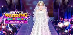 Become an amazing in this & prepare a variety of wedding design dress for the beautiful bride. Free Girl Games, Free Games For Kids, Games For Girls, Perfect Bride, Beautiful Bride, Perfect Wedding, Star Wedding, Wedding Bride, Fashion Shopping Apps