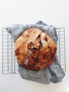 No-Knead Cheesy Rustic Bread   Bev Cooks