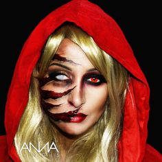 Red Riding Hood with Claw Marks 1 | Red riding hood costume, Red ...