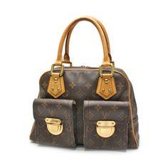 Louis Vuitton Manhattan PM Monogram Shoulder bags Brown Canvas M40026