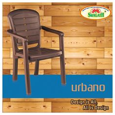 Heavy high-back plastic arm URBANO chairs in matte finish are moulded in 100% virgin polymers which make it tough and long lasting. Visit us to get more details on the available colors here at www.swagath.co !!