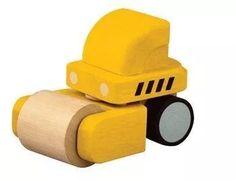mini aplanadora - juguetes de madera marca plan toys