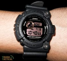 G-Shock Frogman Military Inspired Series – GW-200MS. Really love this big old Frogman.