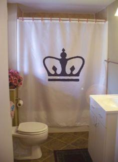 Royal Crown Shower Curtain King Queen Prince Princess Royalty Corona Bathroom Decor Kids Bath Curtains Custom