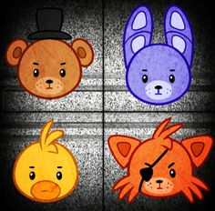 how to draw five nights at freddys
