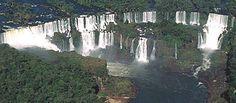 Iguaçu National Park - Iguaçu falls, Atlantic rainforest, Paraná, Brazil.  © WWF / Michel GUNTHER