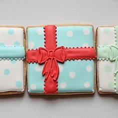 images of present cookies | Christmas Gift Cookies | TasteSpotting