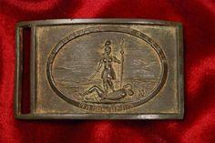 Confederate Virginia sword belt plate