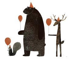 Jon Klassen - I want my hat back. framed pages from book in Liberty's room?