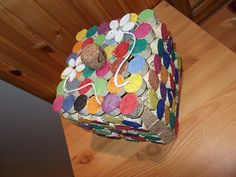 jewelery box from painted cork Cork, Jewelery, Decorative Boxes, Artwork, Inspiration, Home Decor, Jewlery, Biblical Inspiration, Jewels