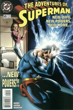 Adventures of Superman #545 - Comic Book Cover