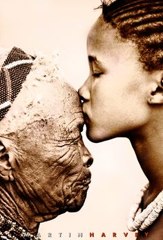 human love potential: respect between generations...Martin Harvey Photography (via WildImagesOnline.com) #capableliving