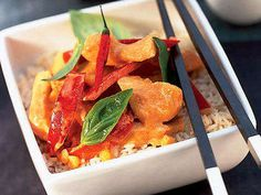 Thai Curry Rice Bowl