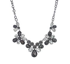 Best of Everything- Crystal Collection Bib Necklace $16