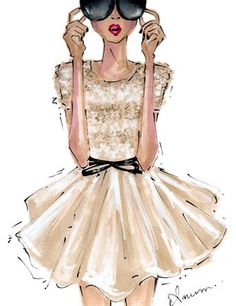 by anum | Jason Wu. Fashion Illustration