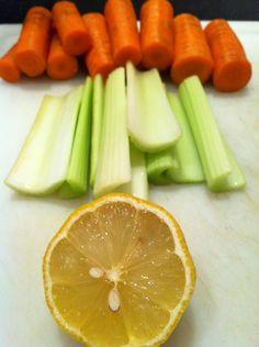 Carrot Celery Lemon Juice