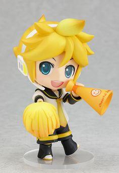 2012 New Nendoroid Kagamine Len Vocaloid Figures Doll Support Version Cheerful Japan Chibi, Otaku, Kagamine Rin And Len, Vocaloid Characters, Nichijou, Anime Figurines, Anime Toys, Anime Merchandise, Good Smile