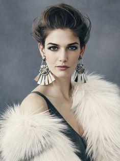 Kendra Spears,Ben Weller,éditorial mode, editorial, fashion editorial, fashion photographer, photographer, photographe, photographe de mode, mode, fashion, sexy, modeling, modèle, luxe, luxury, portrait, glamour, mannequin, lovely,fur,fourrure,jewellery,jewelry,joallerie,