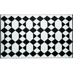 @Overstock.com - The Monte Carlo indoor/outdoor mat highlights a contemporary geometric pattern design. This reversible, carefree and weather proof mat is made with highest grade of recycled PP and tightly woven tubular yarn which promotes durability.http://www.overstock.com/Home-Garden/Monte-Carlo-5-x-8-Indoor-Outdoor-Reversible-Area-Rug-by-b.b.begonia/6753509/product.html?CID=214117 $77.04