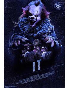 IT - Eso by Bryanzap on DeviantArt Clown Horror, Horror Monsters, Arte Horror, Horror Art, Horror Movies, Horror Villains, Le Clown, Creepy Clown, Stephen King Movies