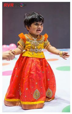 8ad0fbd37151da Lovely Kids Lehengas by Golden Threads ~ Celebrity Sarees